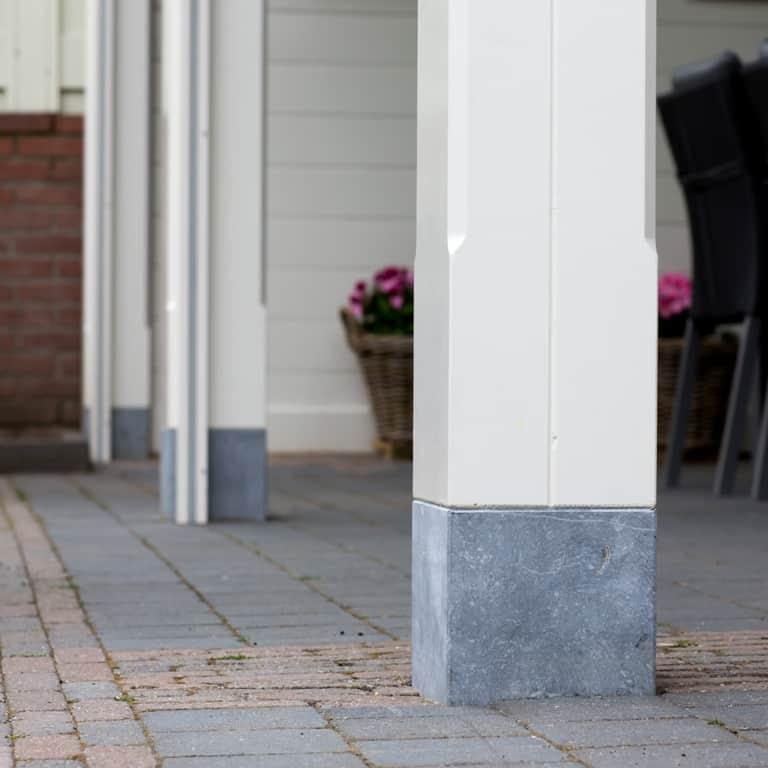 Houten Tuinkamer Met Lichtstraat