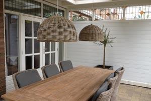 Creëer sfeer in uw veranda met sfeervolle verlichting
