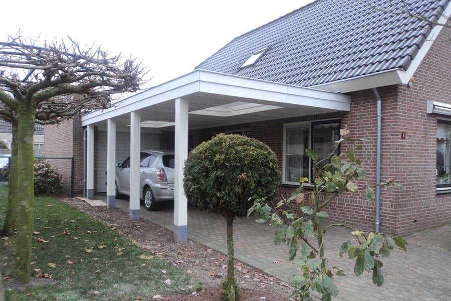 Houten Carport Huis 900×600