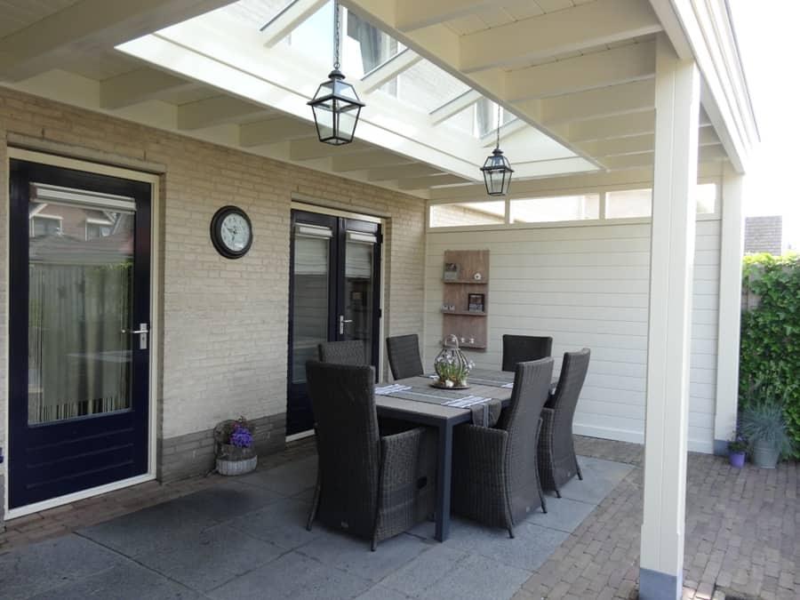 Wand maken met hout beste inspiratie voor huis ontwerp - Veranda met stenen muur ...