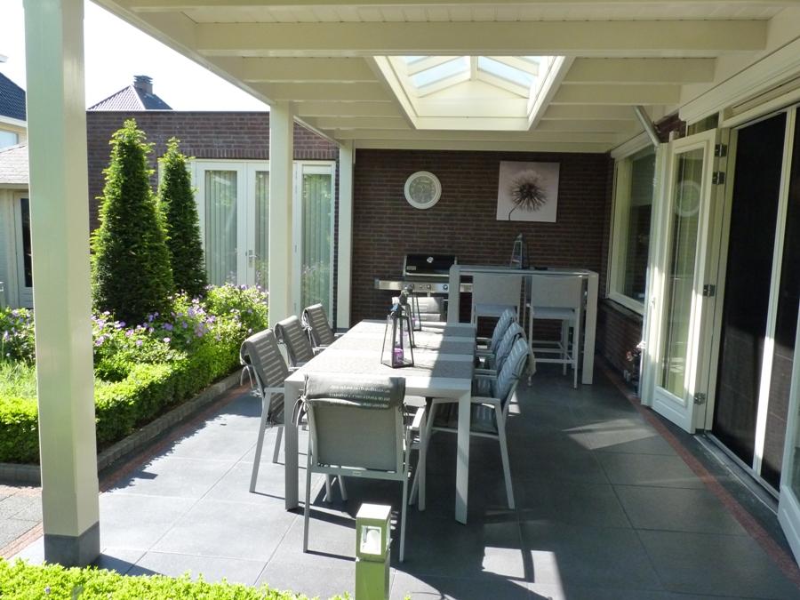 Impressies - Veranda modern huis ...