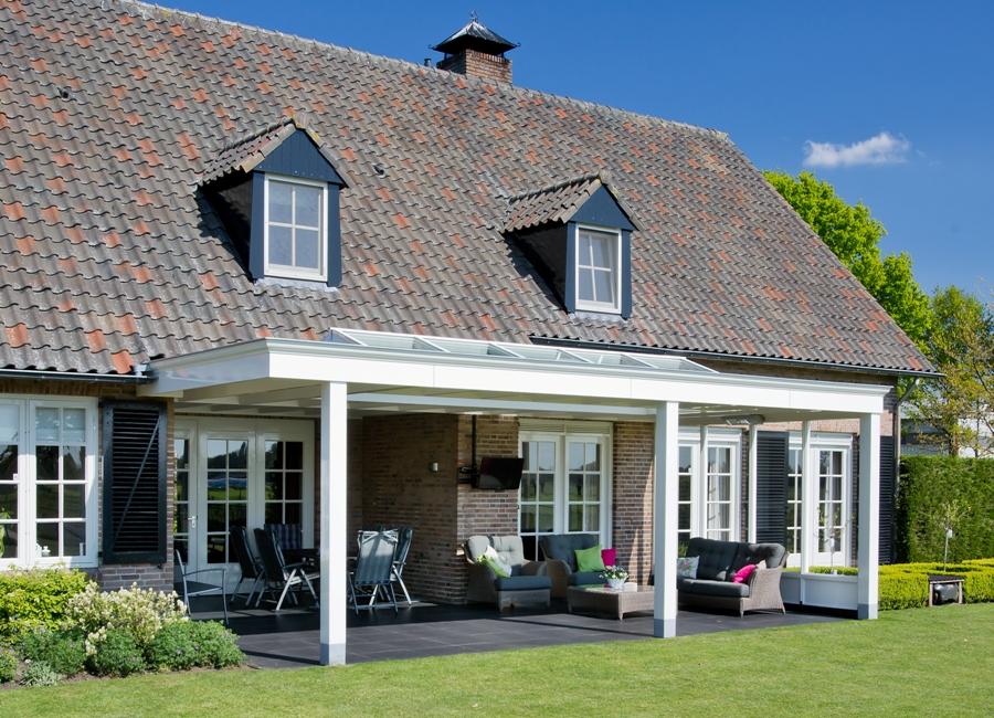 Landelijke veranda met bijzondere authentieke uitstraling - Te vergroten zijn huis met een veranda ...